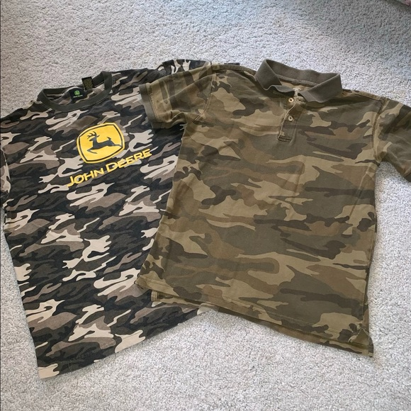 80c0cd36 Shirts & Tops | Boys Camouflage Shirt Lot | Poshmark
